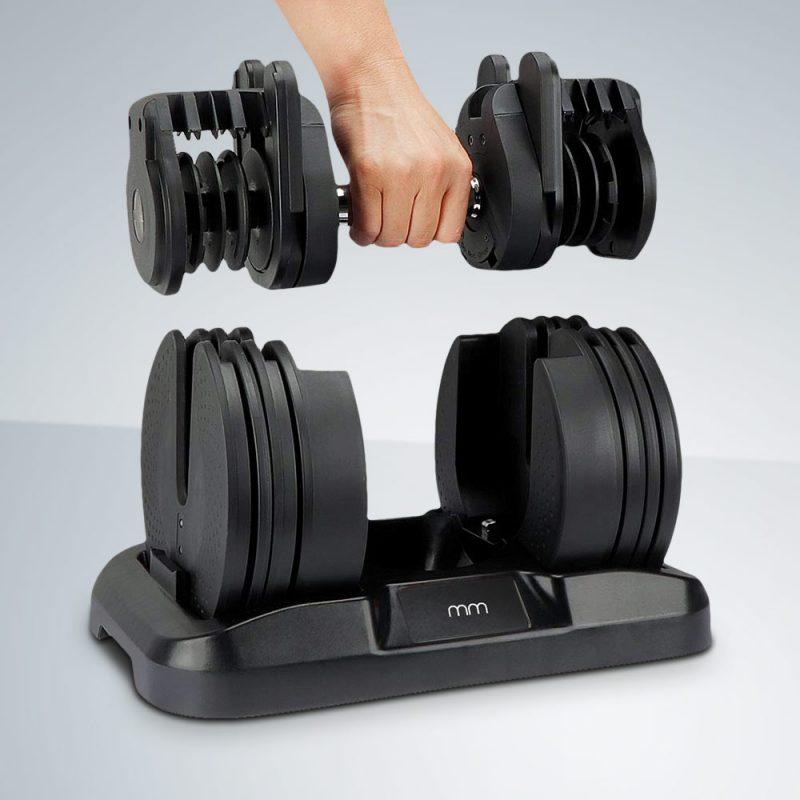 Как да изберем правилните тежести за дъмбели?