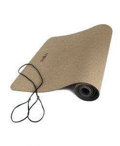 Постелка за йога от корк 4 мм